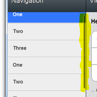 Show Hide Div On Scroll Position